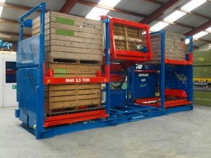 BOXmaster with BT1600 emptying system